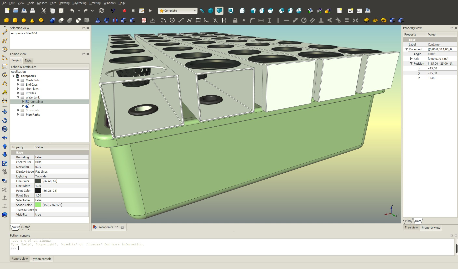 File freecad aeroponic freecad documentation Free 3d cad software