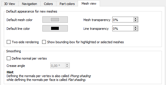 Mesh View Preferences.png