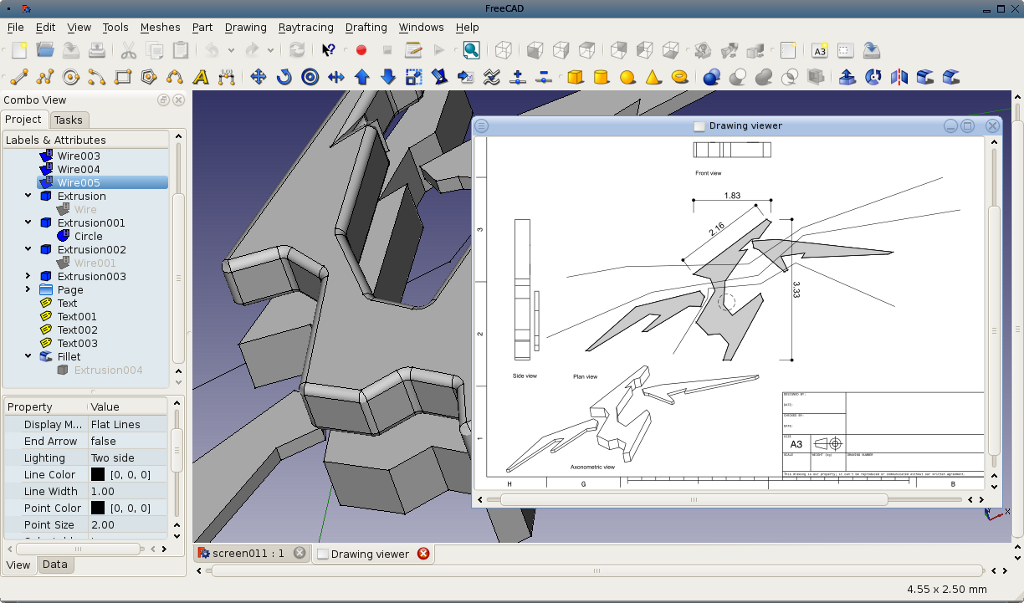 Screenshots Freecad Documentation