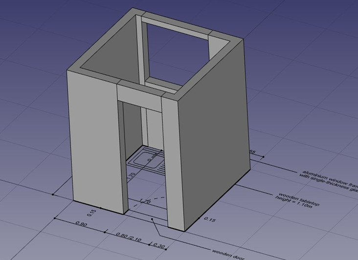 3d on top of draft objects