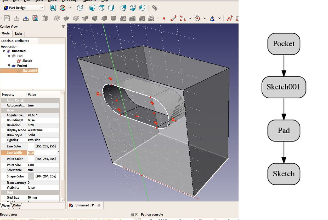 parametric modeling example