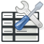 Icon used for access in Spreadsheet options