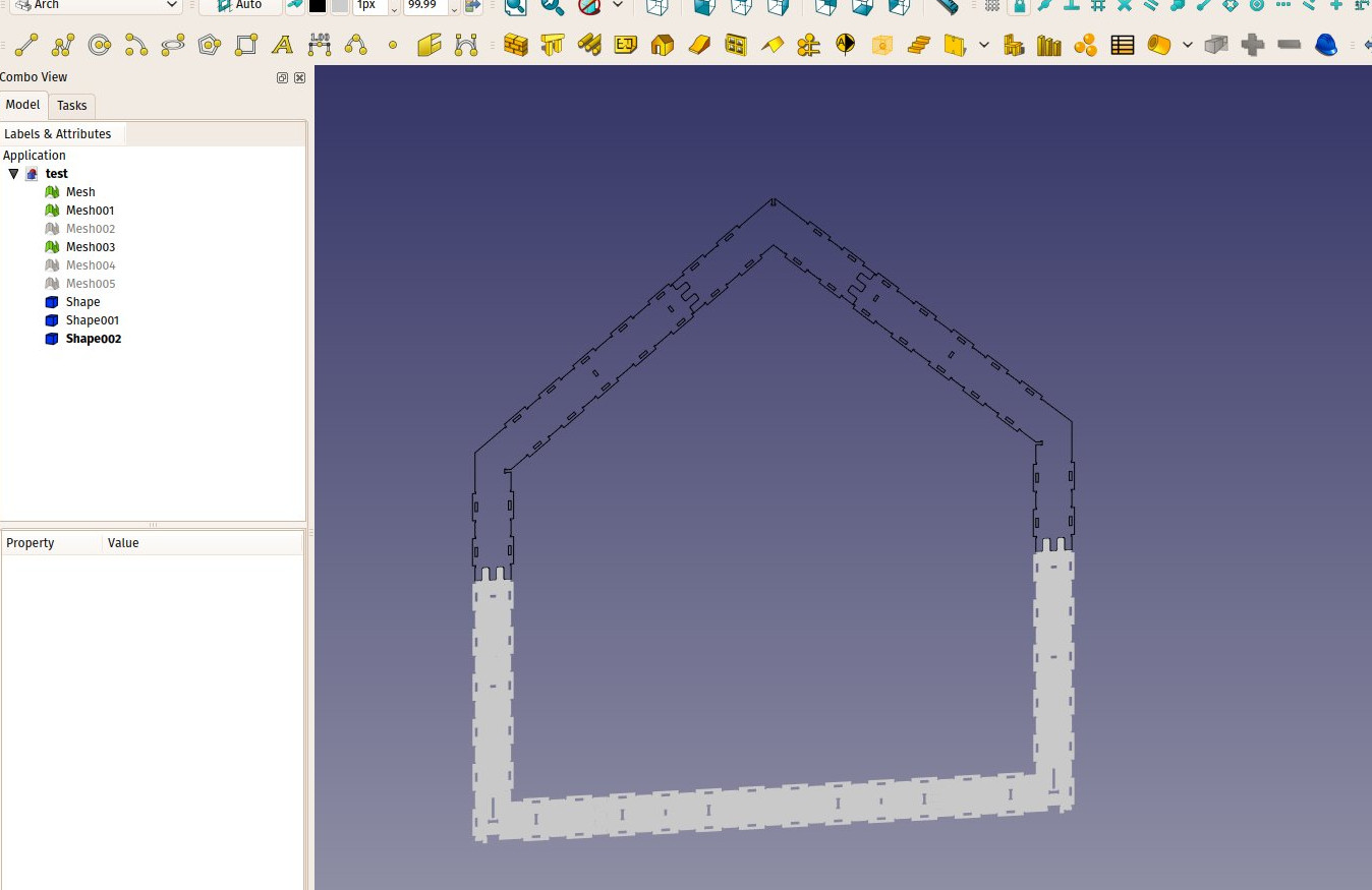 Wikihouse porting tutorial - FreeCAD Documentation