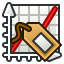 Labels tool icon
