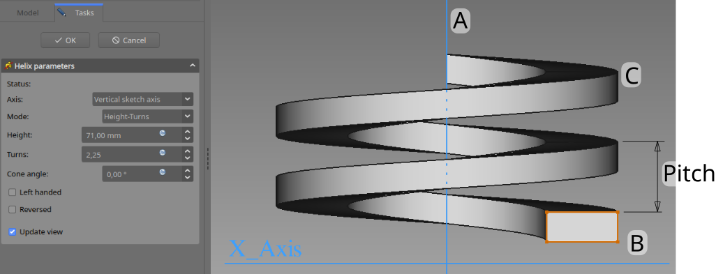 PartDesign AdditiveHelix example overview.png