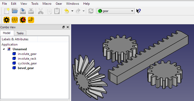 Macro FCGear - FreeCAD Documentation