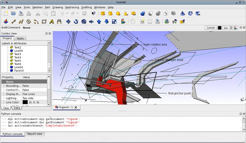 Screenshots freecad documentation Free 3d cad software