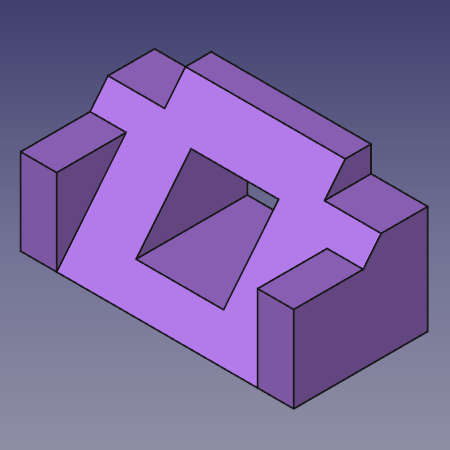 Tutoriel de conception d 39 une pi ce basique freecad Simple 3d design software