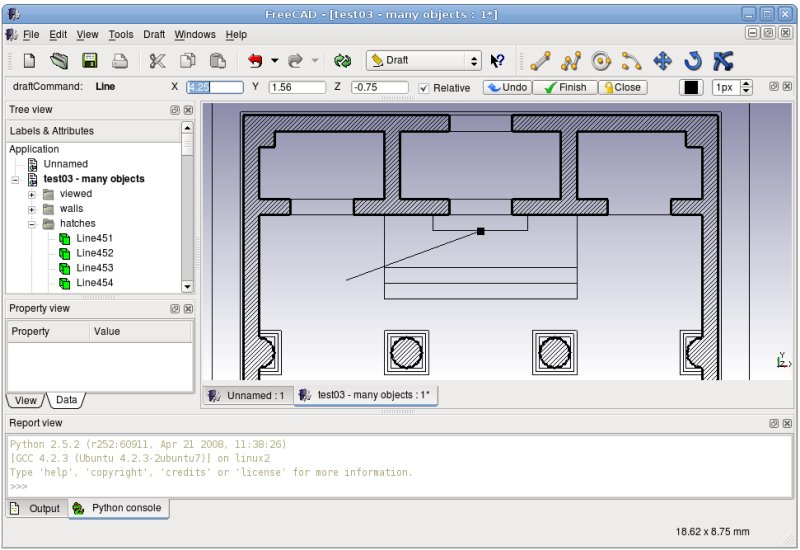 File screenshot freecad documentation Free 3d cad software