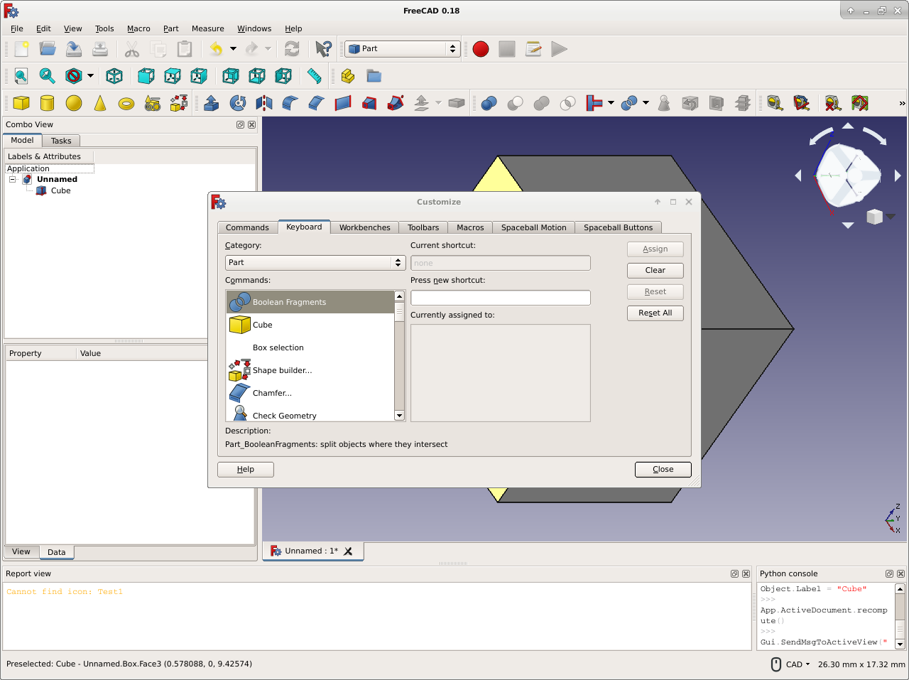 FreeCAD-v0-18-CustomizeInterface.png
