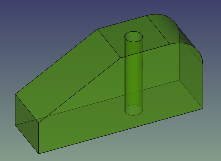 Creating a simple part with PartDesign - FreeCAD Documentation