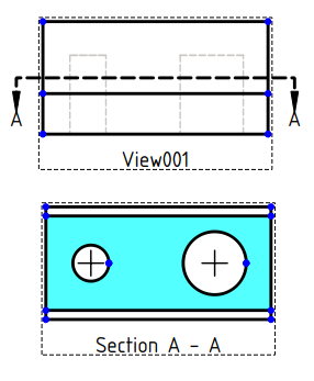 TechDraw Section example.png