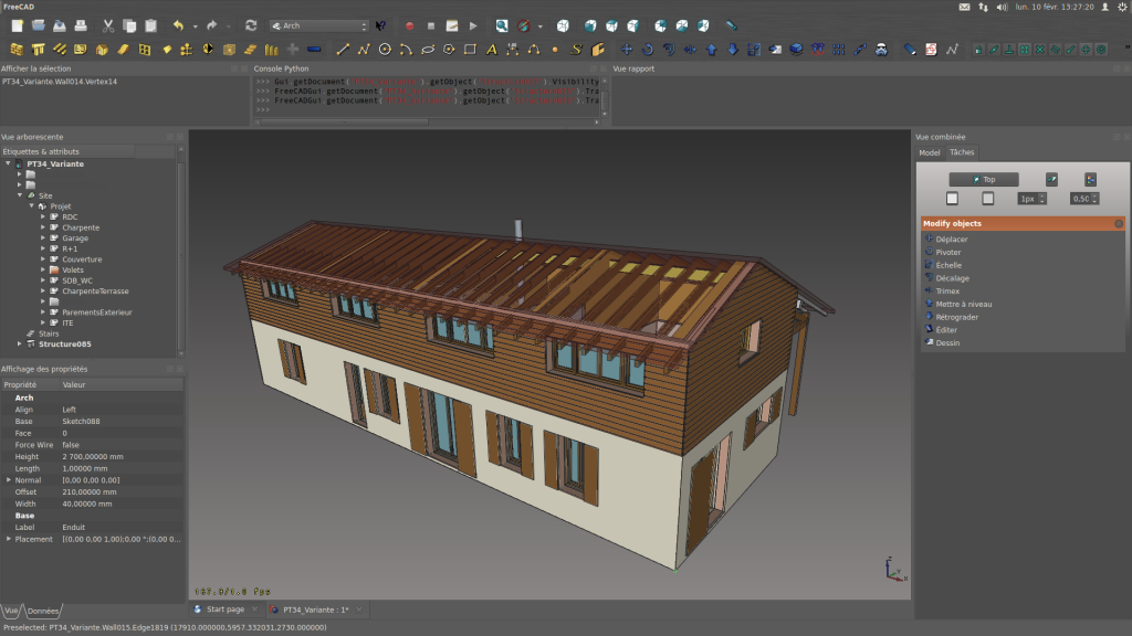 Screenshots freecad documentation for Cad 3d free italiano