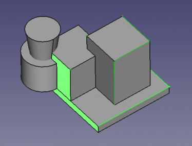 FreeCAD Selection view many objects subelements 3D.png