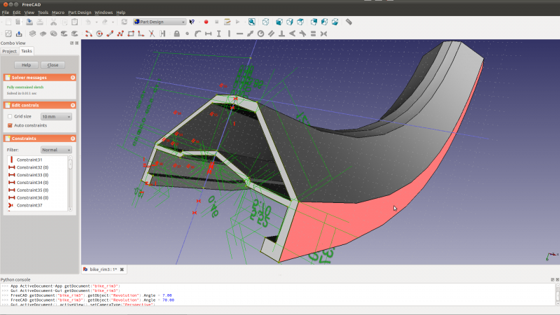 FreeCAD - parametric, open source 3D modeler