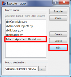 You can also open your macro in the editor