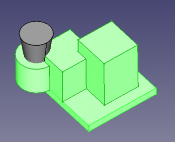 FreeCAD Selection view many objects 3D.png
