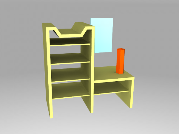04 T04 FreeCAD POVray first render radiosity.png