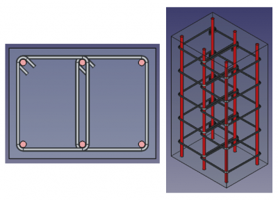 Arch Rebar ColumnReinforcement TwoTies example.png