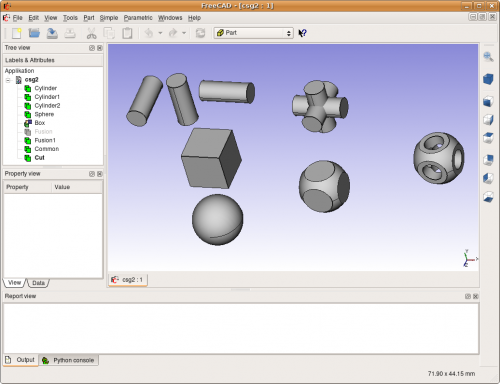 Arbeitsbereich part freecad documentation for Cad 3d free italiano