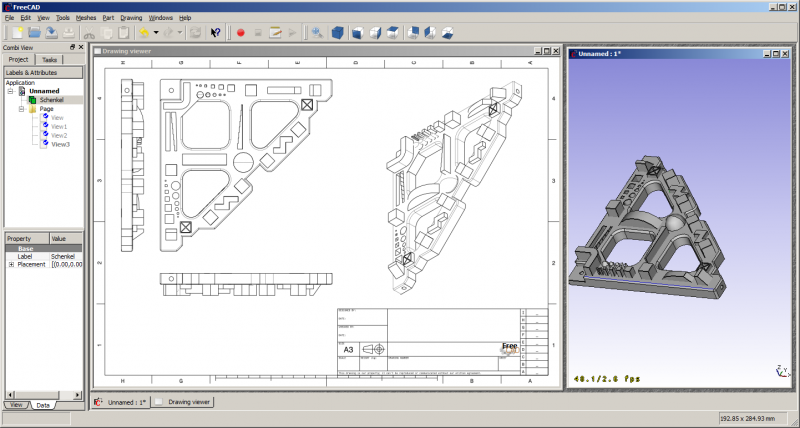 Captures d 39 cran freecad documentation for 2d architectural drawing software free